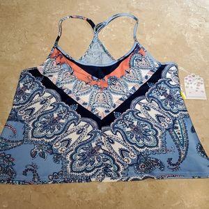In Bloom Tapestry Print Knit Sleep Cami S